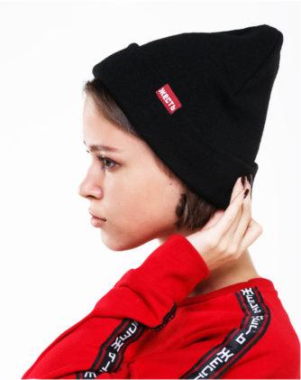 чорна шапка HARD