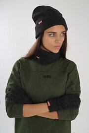 сіра шапка hard
