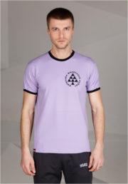 фиолетовая футболка RAVE