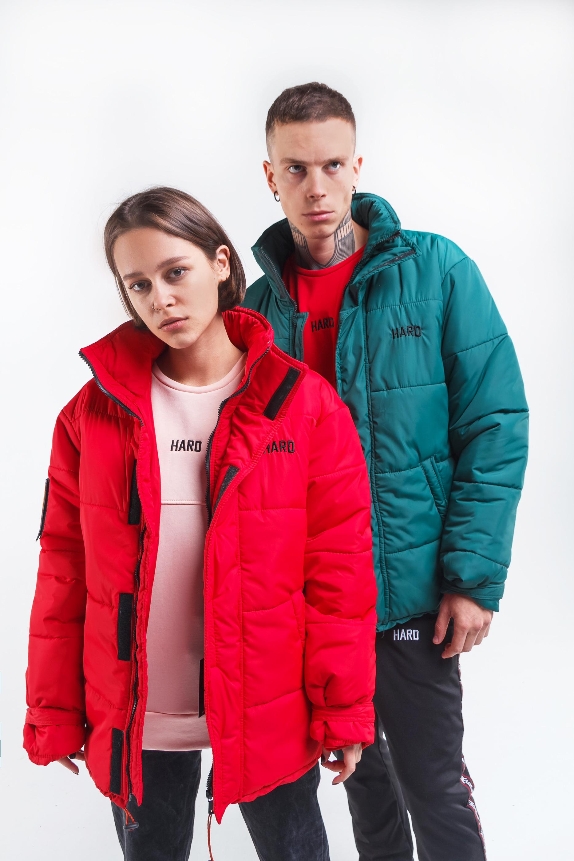 зимние куртки HARD