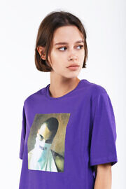 женская футболка оверсайз