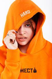 оранжевая худи ЖЕСТ