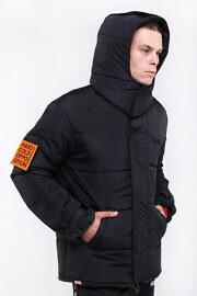 чорна куртка hard