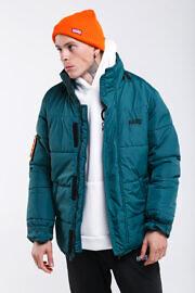 зелёная куртка киевского бренда
