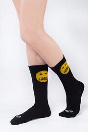 черные носки смайл хард