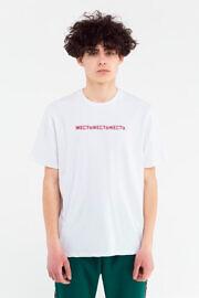 купить белую футболку ЖЕСТЬ