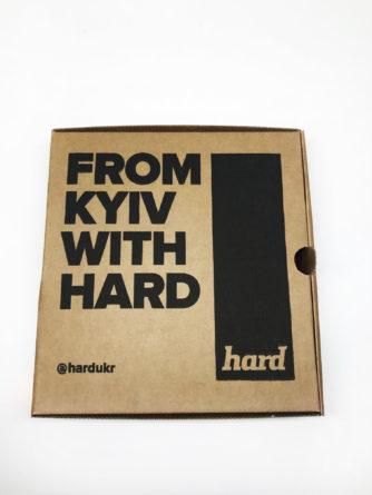 коробка HARD киевский бренд