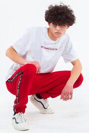 HARD красные штаны с лампасами ЖЕСТЬ