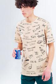 hard kyivwalls песочная футболка
