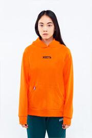 оранжевое худи ЖЕСТЬ
