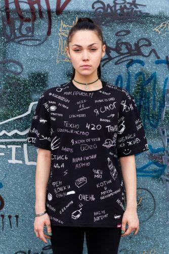 футболка kyivwalls унисекс