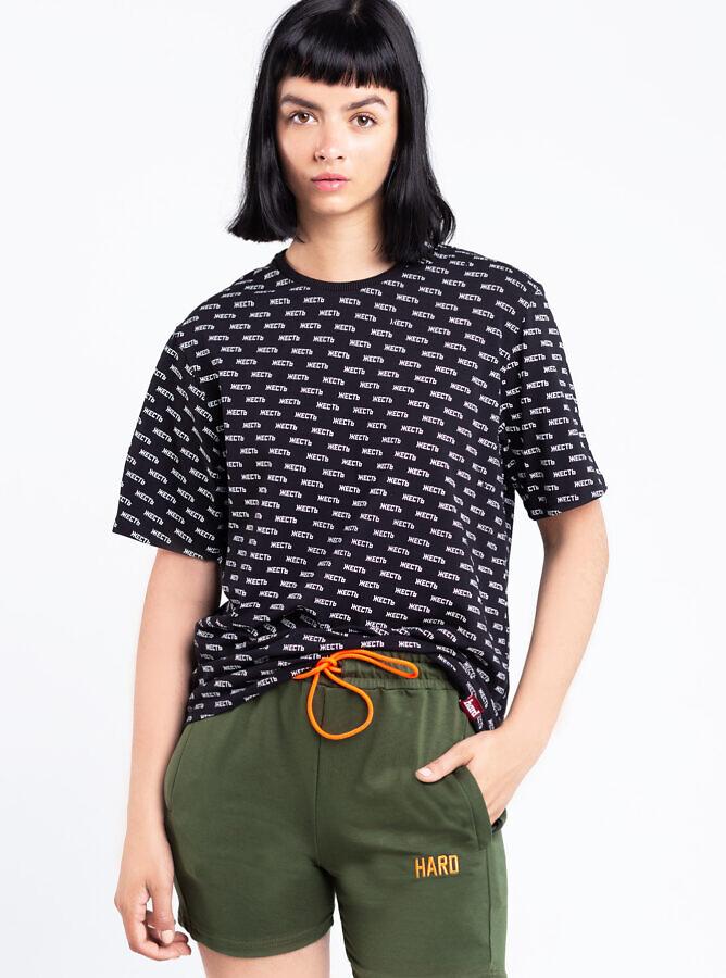 футболка жесть паттерн и шорты HARD