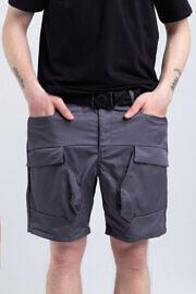серые карго шорти HARD
