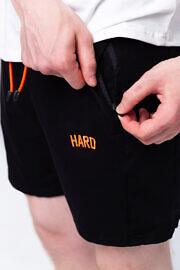 чорні шорти для спорта HARD