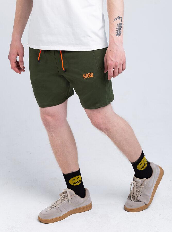 зелені шорти HARD