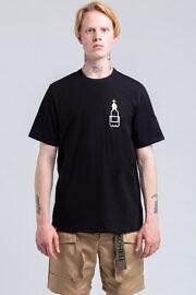 чорная футболка оверсайз HARD PRIHOD