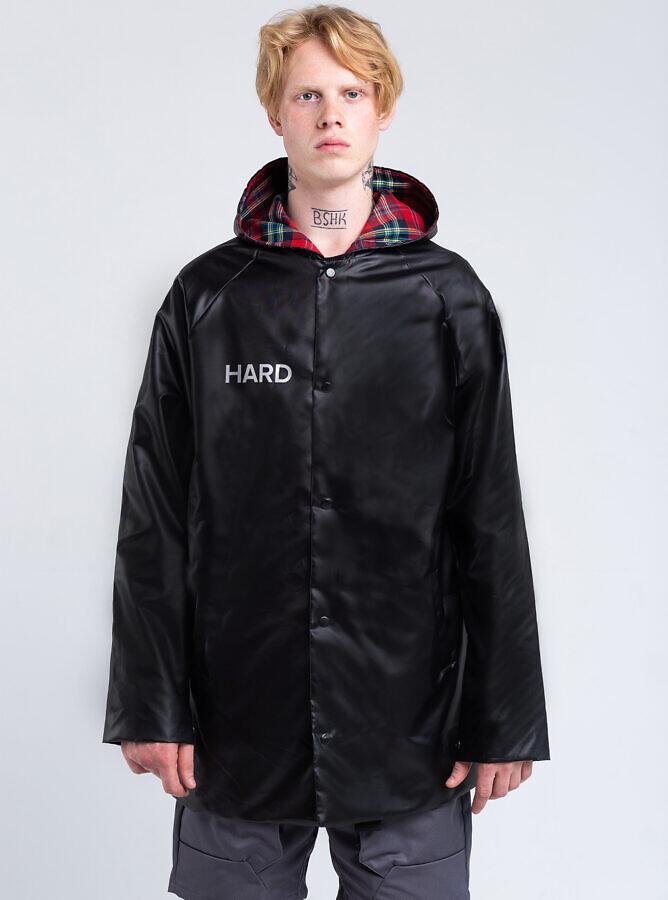 чорный дождевик HARD