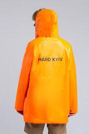 оранжевый дождевик HARD
