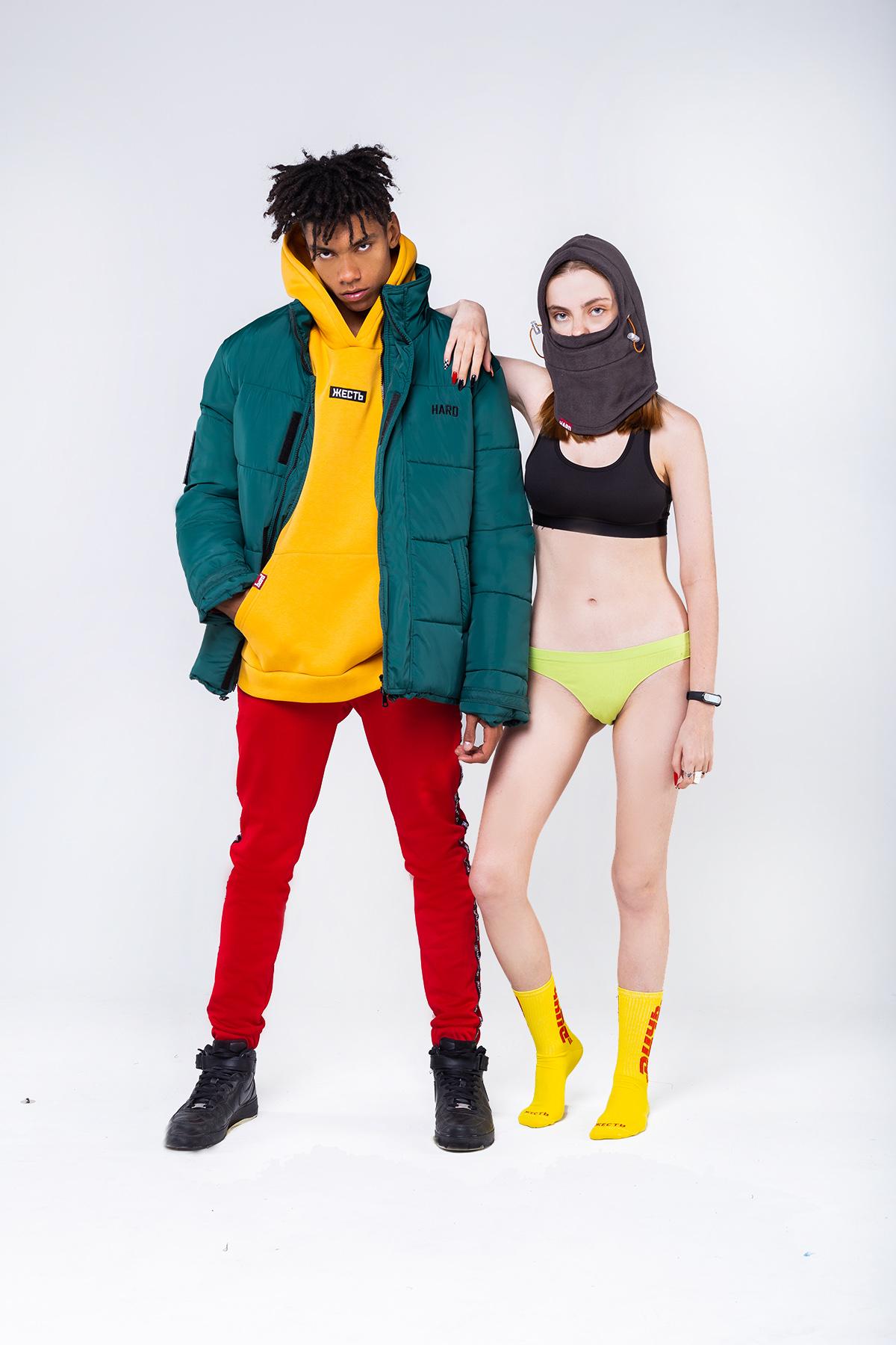 зимняя коллекция киевского бренда HARD Subculture