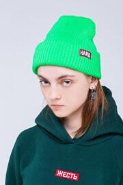 шапка HARD неон