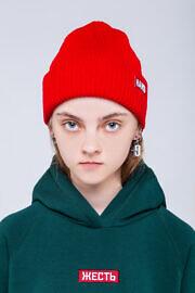 красная шапка HARD