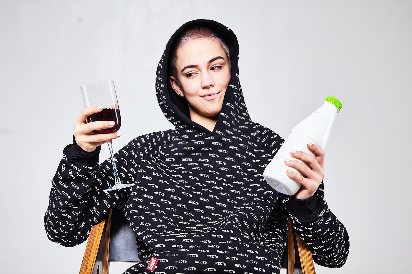 вино или кефир