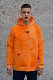 оранжевое худи тайдай