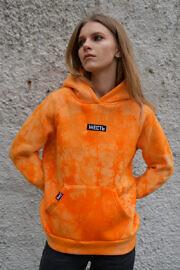 оранжевое худи тайдай ЖЕСТЬ
