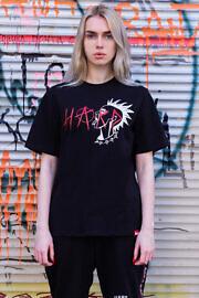футболка hard punk
