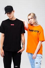 футболка бренда hard