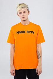 помаранчева футболка HARD Kyiv