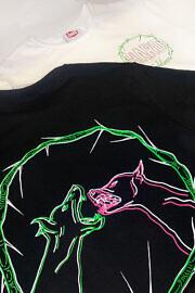чорна футболка HARD RAGE  коллаба с Мариной Соколовой