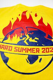 жовта футболка hard summer