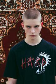 hard punk чорна