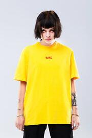 hard summer футюолка жовта