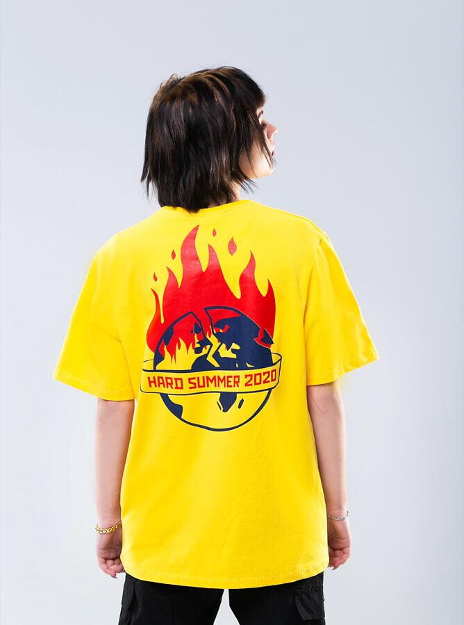 hard summer желтая футболка киев