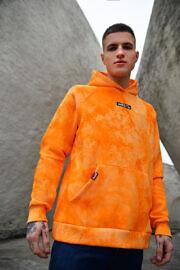 оранжевое худи жесть HARD
