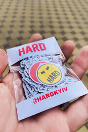 Kyivwalls стікерпак HARD