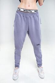 штани HARD сірі спорт